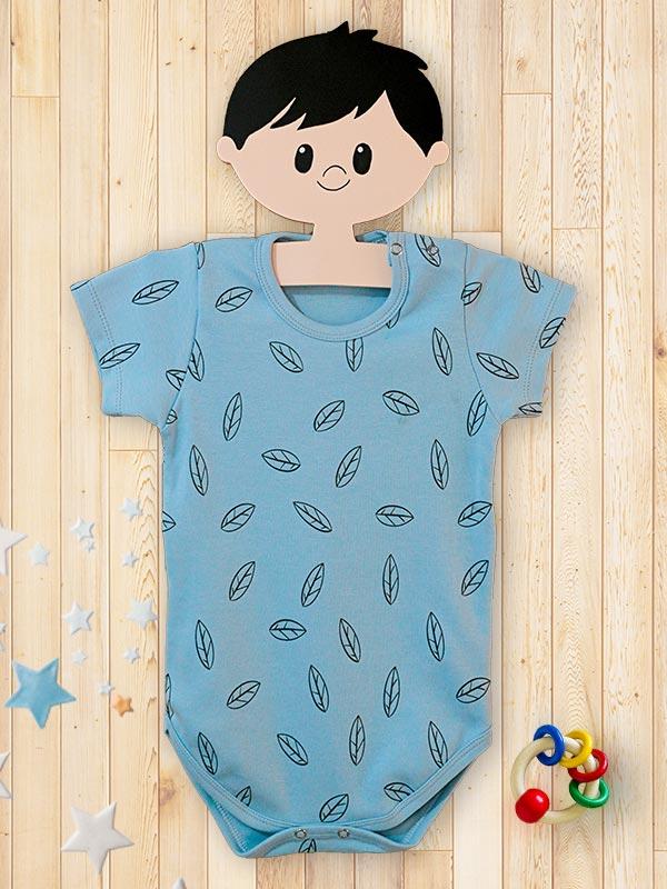 Body-Infantil-Folha-Azul