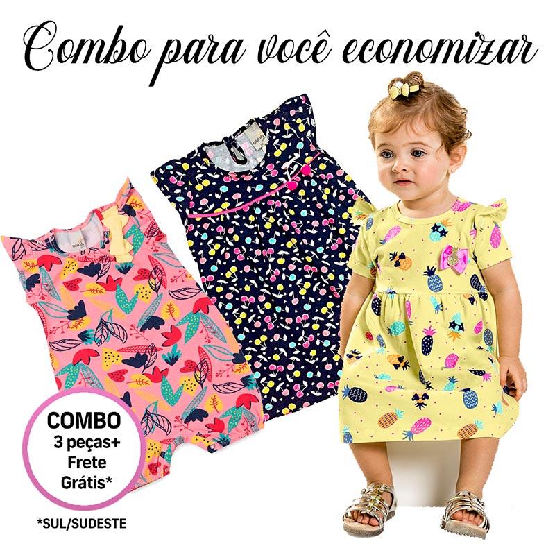 Kit Roupa Infantil Feminino