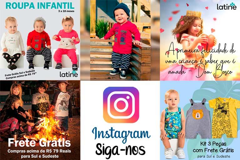 Instagram Roupa Infantil