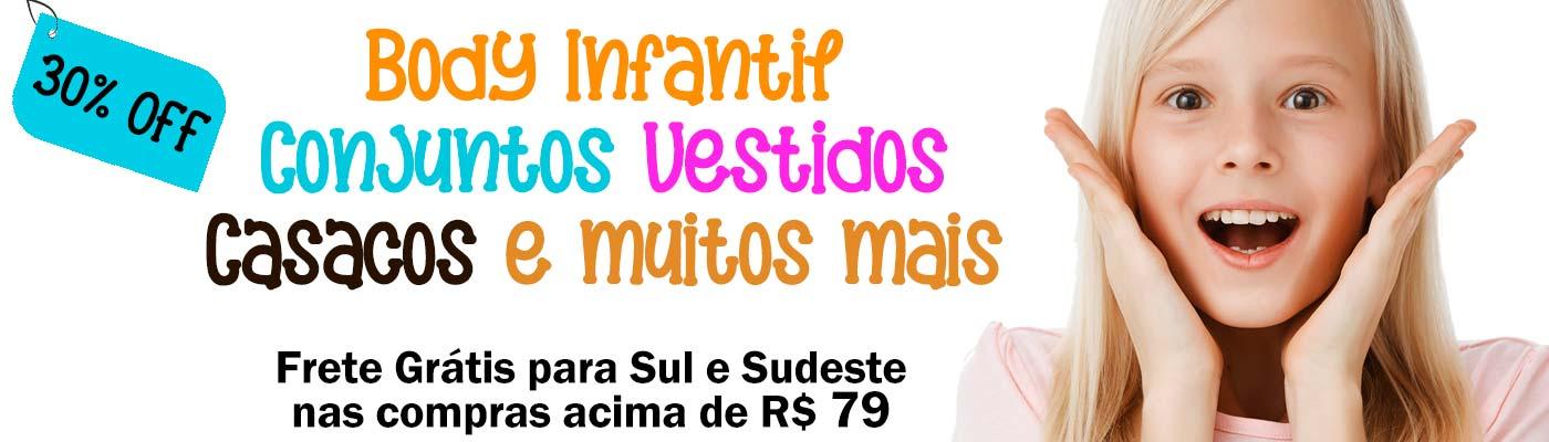 Roupa Infantil Body Infantil Macaquinho Conjunto Casaco